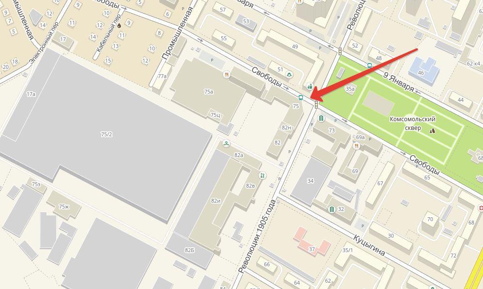 Яндекс Такси Воронеж один из офисов фирмы, который легко отыскать по адресу, улица Свободы 75.