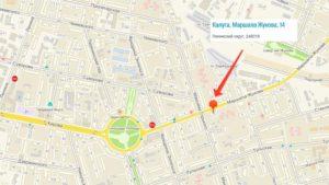 Яндекс Такси Калуга, заказатьтранспорт которой всегда целесообразно, можно отыскать по адресу, улица Маршала Жукова, дом 14
