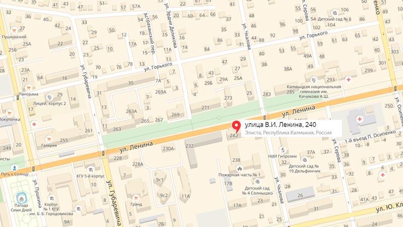 улица Ленина, дом 240