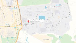 представительство фирмы можно по адресу, улица Суворова, дом 73, строение 13.