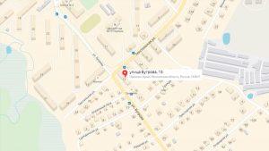офис расположен по адресу: улица Бугрова дом 13