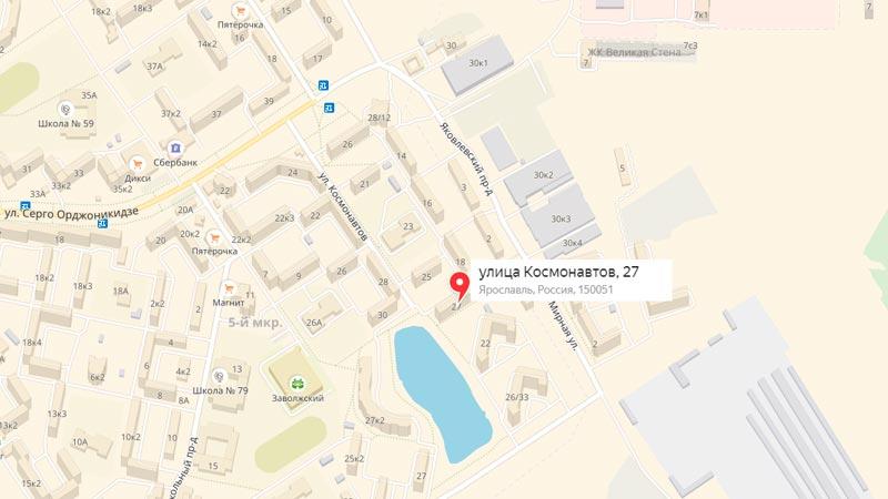 представительства перевозчика стоит обратиться по адресу, улица Космонавтов, дом 27,